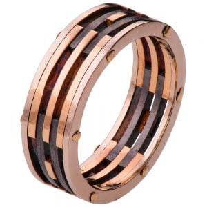 Men's Wedding Band BNG2 Rose Gold Catalogue