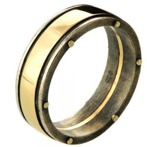 Men's Wedding Band Yellow Gold BNG1W