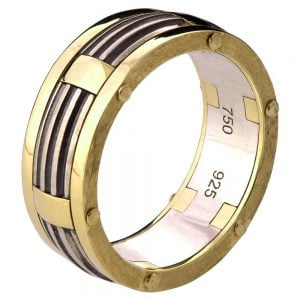 Men's Wedding Band Yellow Gold BNG10