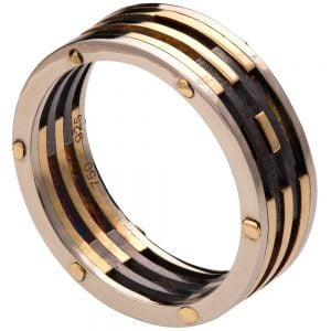 Men's Wedding Band BNG2 Yellow Gold