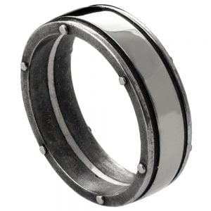 Men's Wedding Band White Gold BNG1W Catalogue