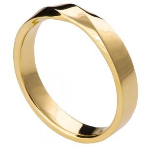 Mobius Wedding Band Yellow Gold 3