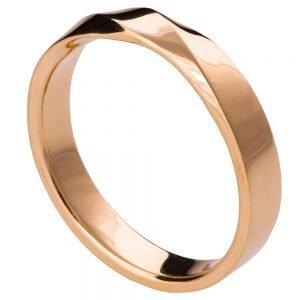 Mobius Wedding Band Rose Gold 3