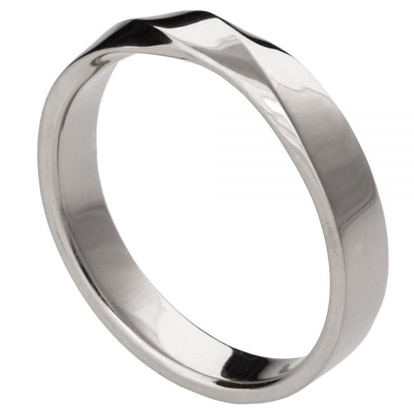 Mobius Wedding Band Platinum 3 Doron Merav