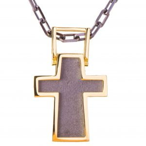 Men's Cross Pendant Yellow