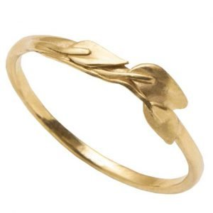 Leaves Ring #1 Yellow Gold Ring