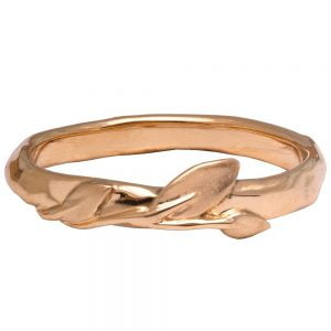 Leaves Ring #9 Rose Gold Ring