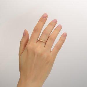 Leaves Ring #1 Rose Gold Ring