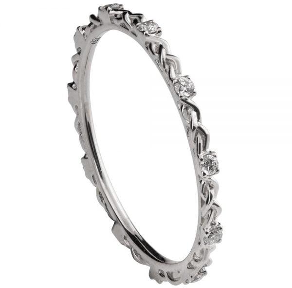 Braided Wedding Band Platinum And Diamonds E1 2 Copy
