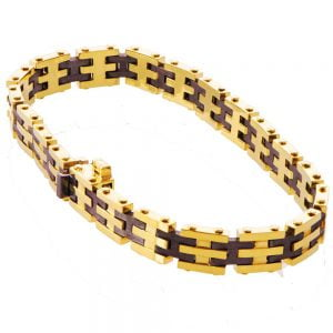Men's Yellow Gold Bracelet