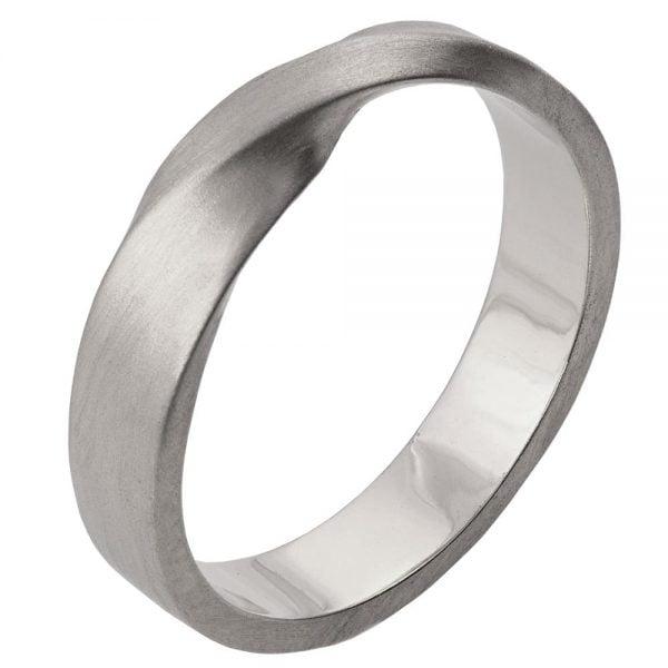 Platinum Wedding Bands For Men.Mobius Wedding Band Platinum 4