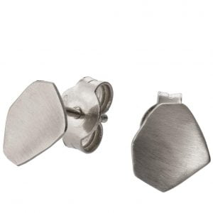 Parched Earth Earrings Platinum