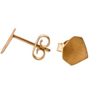 Parched Earth Earrings Rose Gold
