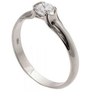 Engagement Ring Platinum and Diamond eng4