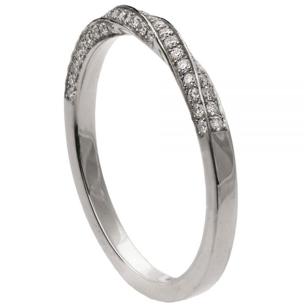 Mobius Diamond Ring Platinum 2 Doron Merav