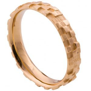 Soar Wedding Band Rose Gold