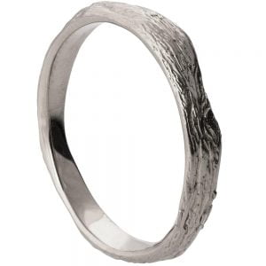 Twig Wedding Band Platinum 2