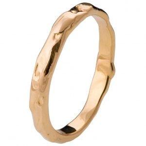 Wrap Wedding Band Rose Gold 2