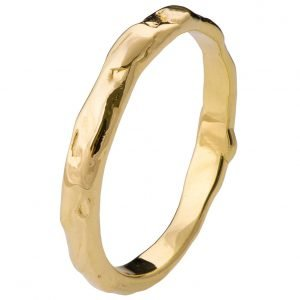 Wrap Wedding Band Yellow Gold 2
