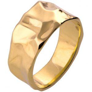Butter Wedding Band Yellow Gold 2