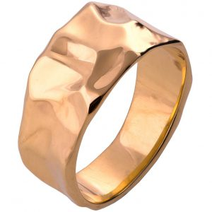Butter Wedding Band Rose Gold 2