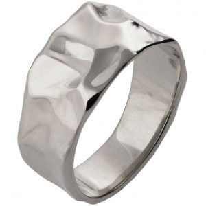 Butter Wedding Band White Gold 2