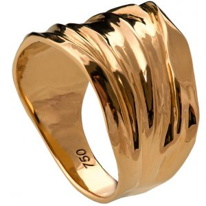 Golden Rag Wedding Band Rose Gold 4