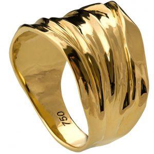 Golden Rag Wedding Band Yellow Gold 4