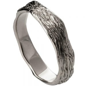 Twig Wedding Band Platinum 6