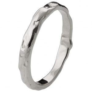 Wrap Wedding Band Platinum 2