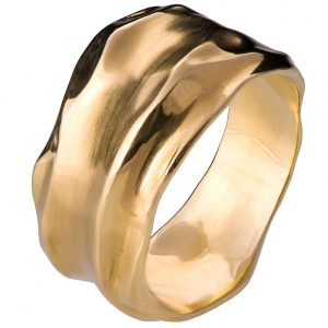 Wrap Wedding Band Yellow Gold 1