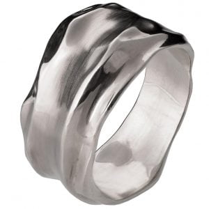 Wrap Wedding Band White Gold 1