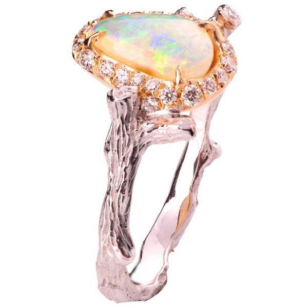 df71079c3a1347 Opal Ring Rose Gold 10 - Doron Merav