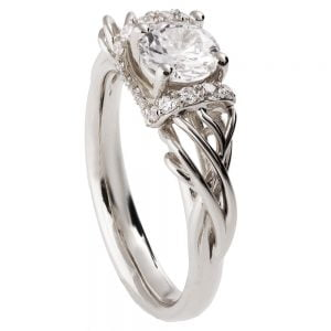 Vintage Engagement Ring Platinum and Diamond ENG21