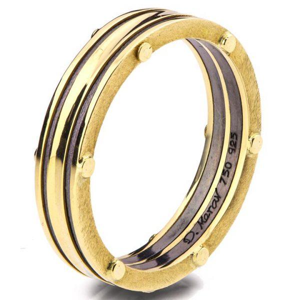 Men's Wedding Band Yellow Gold